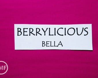 One Yard Berrylicious Bella Cotton Solid Fabric from Moda, 9900 214