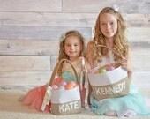 Personalized Easter Basket - Girl's Easter Basket
