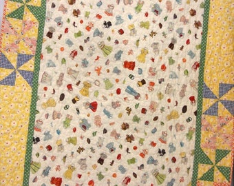 Baby Hoo quilt kit...designed by Mickey Zimmer