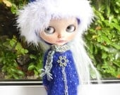 Blythe Blue Winter Outfit  (BD18916)