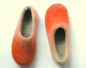 Special order for Victoria  Slippers with natural merino tops inside and rubber soles