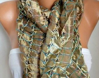 ON SALE --- Silk Scarf, Cowl Scarf, Wedding Shawl, Oversized Scarf,Bridal Scarf,Bridesmaid Gift, Gift Ideas For Her Women Fashion Accessorie