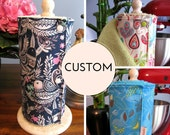 CUSTOM UnPaper Towels with Core and Snaps - You Choose! 12 Per Roll - Perfect Mother's Day Gift!
