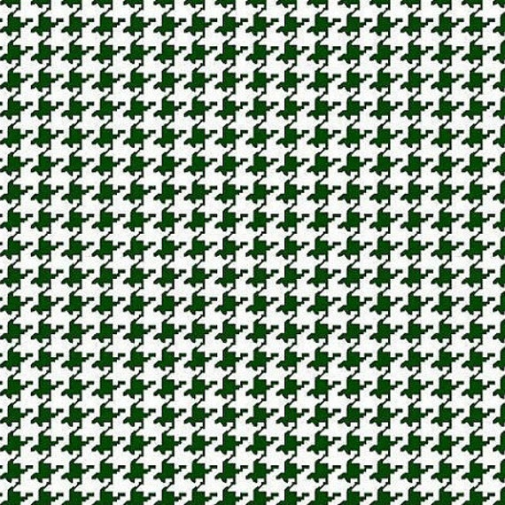 Houndstooth fabric,Hunter Green and white houndstooth fabric,100% cotton,Quilt fabric,Apparel fabric,Craft,Sold by FAT QUARTER INCREMENTS