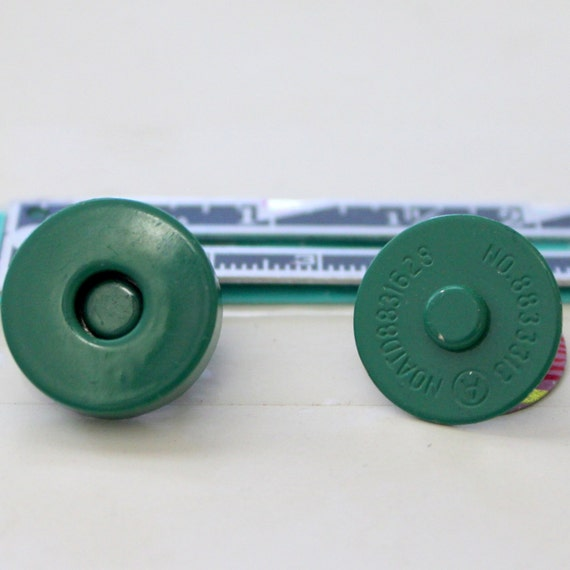 Green Magnetic Snaps,Large Magnetic Snaps,Purse Magnetic Snaps,Magnetic Snap Supplies