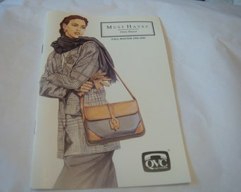 Must Haves Doris Pooser 90s Fashion How to Booklet QVC