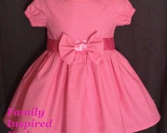 Baby girl take home dress, Easter dress, birthday dress