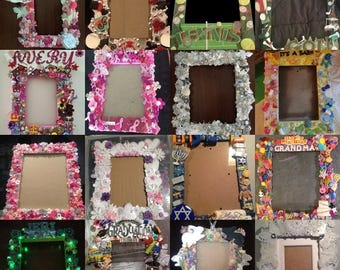 Custom Handmade Picture Frame- Small Size