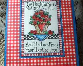 Red Roses Mother's Day Card  20170058