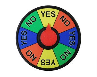 Prize Wheel Refrigerator Magnet 4 inch Spinner Decision Maker Free Shipping