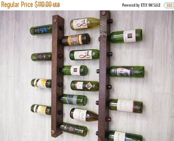 HOLIDAY SALE 8 Bottle Tuscan Wine Racks, Set of 2