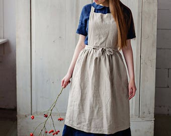 Antonella Apron Dress, Grey Dandellion