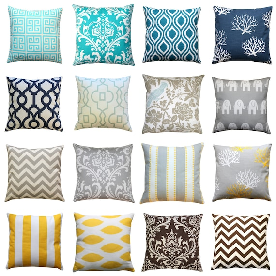 Throw Pillows In Clearance : CLEARANCE Throw Pillows Decorative Pillow by ModernalityHomeDecor