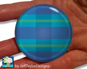 Flannel Pattern Pocket Mirror (Printed)