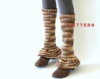 Leg Warmers PDF, Hand Stitched Leg Warmers PDF, Leg Warmers Knitting Pattern, Easy Knitting Tutorials