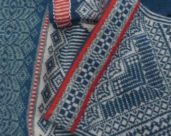 Arktisk Hat; Hand made knitted Merino Lambswool hat in the Scandinavian inspired pattern Arktisk