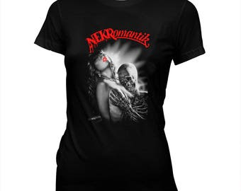 Nekromantik - Jörg Buttgereit - German Underground Horror - Women's Pre-shrunk, Hand Screened, 100% Cotton T-Shirt