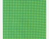 SHOP CLOSING SALE Houndstooth Fabric by the yard Michael Miller Mini Houndstooth in Caribe 1 yard