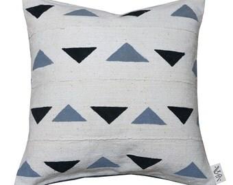 BD-6  Bogolan Pillow Cover (de)constructed