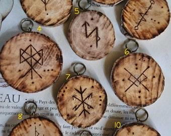 Magical  Rune Pendant - Make your choise