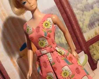 """PDF Pattern """"Belle Dress"""" for Barbie by Marirose with instant download"""
