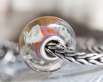 Small Core Artisan Bead Jellyfish SRA Lampwork Beads BHB Beads