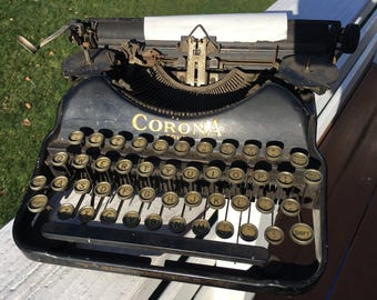 This Corona Four typewriter is from the 1920s