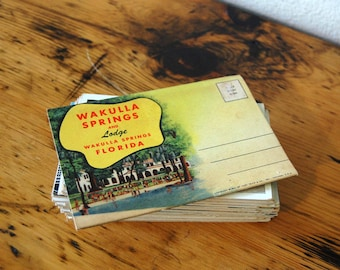 Vintage Postcards Vintage US Travel Postcards Vintage Kropp Co. Postcards Natural Color Postcards from The Eclectic Interior