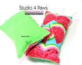 Guinea Pig Luxury Large Pillows - (Watermelon)