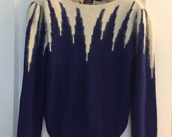 Retro Zig Zag Sweater