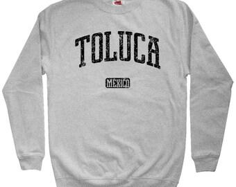 Toluca Mexico Sweatshirt - Men S M L XL 2x 3x - Crewneck, Gift For Men, Gift for Her, Toluca Sweatshirt, Toluca de Lerdo, Deportivo, Mexican