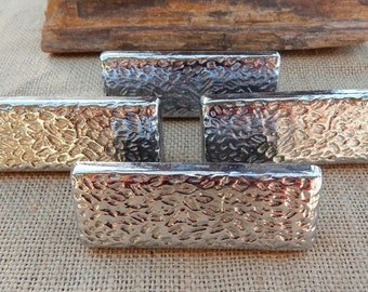 hammered drawer pulls. hammered drawer pulls ~ set of 4 heavy metal silver finish m