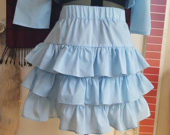 Triple Layered Lolita Skirt - MADE TO ORDER