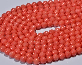 Coral Beads 4.2mm Coral Beads Gemstone Beads Jewelry Making Supplies