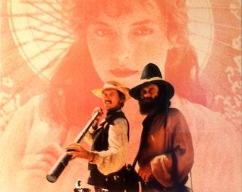 "Burke and Wills. Original 1987 US 26""x40"" Video Movie Poster. FREE SHIPPING.Beautiful Art.Jack Thompson (Robert O' Hara Burke),Nigel Havers"