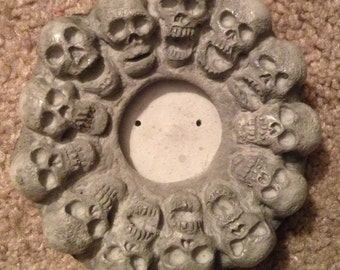 Incense Burner / 13 Skulls / Only 1 available! - 25 dollars, plus shipping