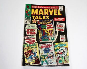 Comic Book Marvel Tales #10 Sept 1967 Silver Age