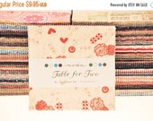 """STASH SALE Table for Two 5"""" Charm Pack"""