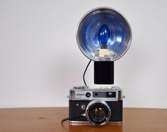 Agfa cold shoe flash   vintage Agfa flash   vintage camera flash  