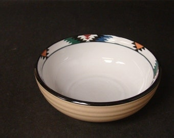Native american inspired bowl