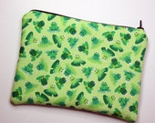 Green Frogs Cosmetics / Make up Bag & Pencil Case