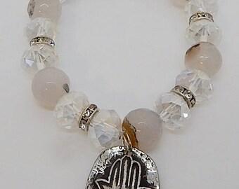 Hamsa Meditation Bracelet