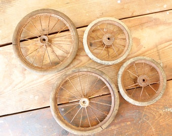 Antique Buggy Wheel Etsy