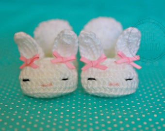Bunny Boo baby slippers newborn to 12 months