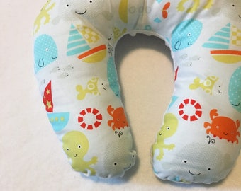 Seaside Travel Neck Pillow for Children and Adults