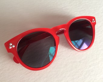 Free US Shipping - Red Vintage Inspired Cosplay Agent Carter Sunglasses