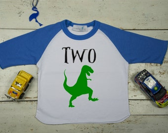 Second Birthday Boy-Birthday Boy Dinosaur Shirt-Second Birthday Outfit-2nd Dinosaur Birthday-Dinosaur Birthday Shirt-Dinosaur Birthday Party