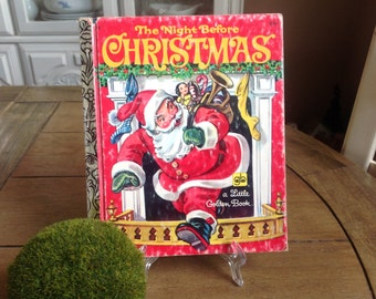 The Night Before Christmas, A Little Golden Book  Copyright 1976