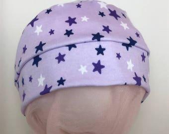 Child Purple Stars Hat