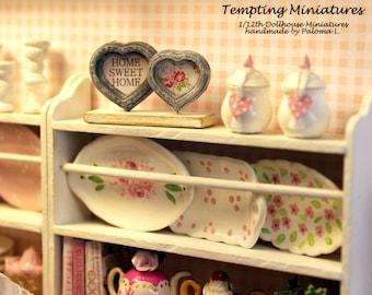Tabletop Multi-Photo Frames - 1:12th Dollhouse Miniature